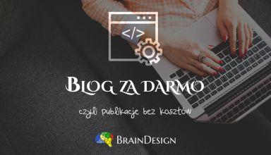 blog Za Darmo